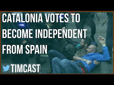 CATALANS VOTE FOR INDEPENDENCE, WILL VIOLENCE ESCALATE?
