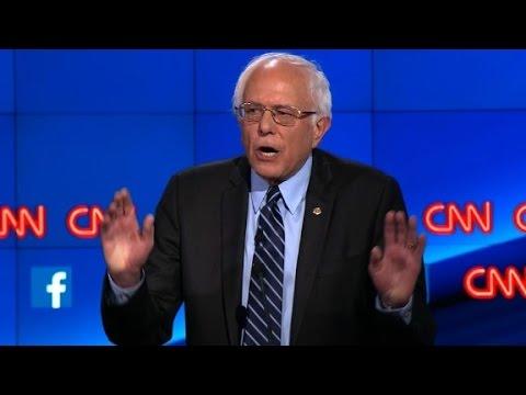 (Democratic Debate) Democratic Debate: Bernie Sanders clarifies his stance on guns
