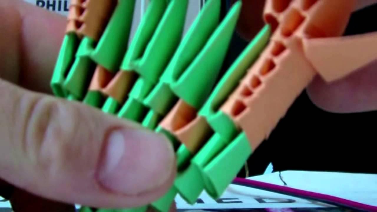 tutoriel d'origami modulaire