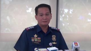 PNP gives updates on war vs illegal drugs