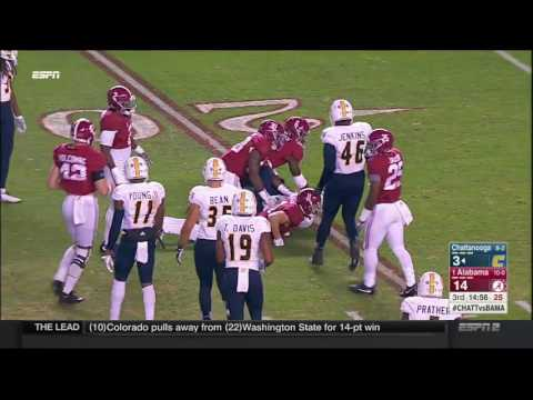 Alabama vs Chattanooga, 2016 (in under 24 minutes)