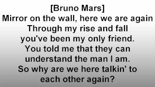 Mirror - Lil Wayne ft. Bruno Mars Lyrics [HQ]