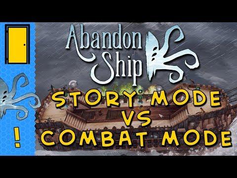 Abandon Ship - Story Mode vs Combat Mode - Details of Abandon Ship Game Modes