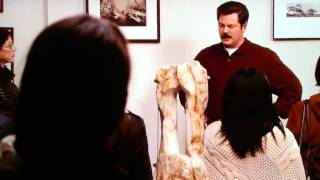 ron swanson art speech