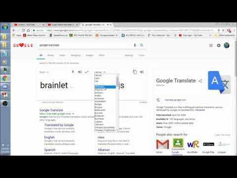 """Brainlet"" Translated and Vocalized in (almost) Every Language"