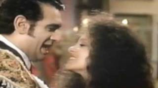 "VIRGINIA ALONSO and PLACIDO DOMINGO in ""El Gato Montés"""