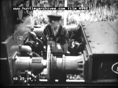 Goods Train Around Sheffield, 1960's - Film 4992