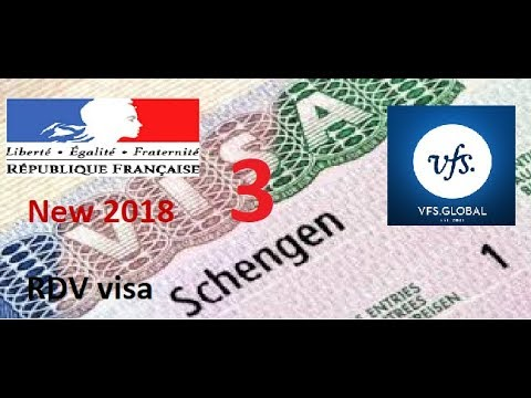 rendez-vous Visa France vfs global موعد فيزا فرنسا