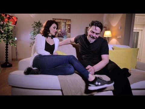 Beyaz Show- Beyaz'ın Evine Giden Ayşe Hatun Önal'ın Zor Anları!