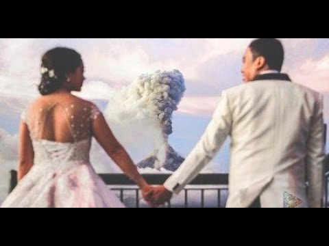 The Danny Bonaduce & Sarah Morning Show - A Volcano Won't Stop This Love Story!