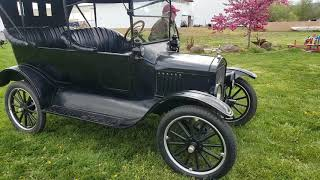 I tried to steal a Model T from the Museum. They helped me do it !
