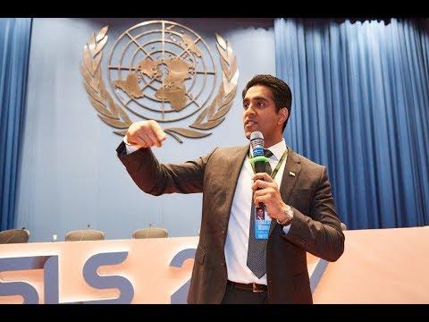 Simerjeet Singh at the 8th USLS 2017