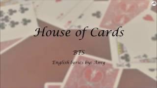 House of Cards (full version) - English KARAOKE - BTS
