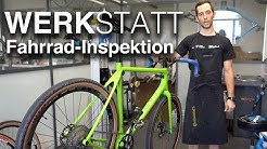 Fahrrad-Inspektion, Fahrradwerkstatt: Prüfen, Rad-Check, Räder Zentrieren, uvm.
