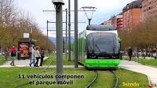 El tranvía de Vitoria-Gasteiz