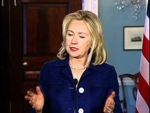 Secretary Clinton Discusses the Keystone Pipeline Project