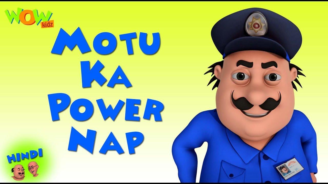 Download Motu Ka Power Nap - Motu Patlu in Hindi WITH ENGLISH, SPANISH & FRENCH SUBTITLES