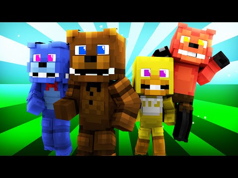 FNAF World - Night 1 (Minecraft Roleplay)