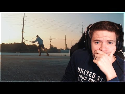 REACTING TO MY OLD HOCKEY VIDEOS