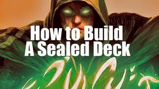 Mtg- How To Build A Sealed Deck