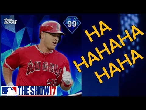 I Pulled a Trout - Live Reaction - MLB The Show 17