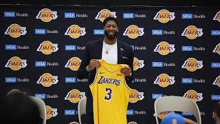 This is how Anthony Davis first learned he was going to be a Laker