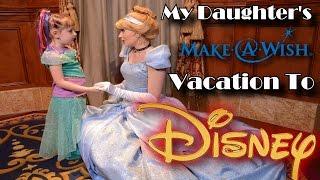 "Make-A-Wish Trip To Disney World In Orlando Florida (""Give Kids The World"")"