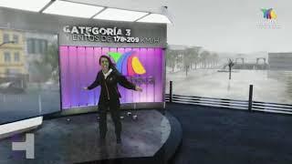Estas serían las consecuencias del IMPACTO de #DELTA como huracán categoría 4 o 5.