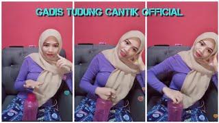 Cikya @ Ya Imut  Ramas Botol Masa Live b1go 🔥🔥🔥 Tudung Hijabstyle Cikya Bigo