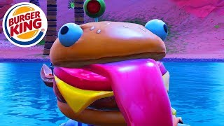 YOU DON'T BELIEVE WHAT IS UNDER BEEF BOSS' BURGER! (INSANE) FORTNITE BATTLE ROYALE