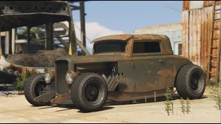 GTA 5 Online - Rat Rod Vapid Hustler | Cinematic | Car Showcase