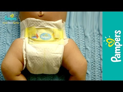 Newborn Diapers: Pampers Swaddlers for Babies with Sensitive Skin
