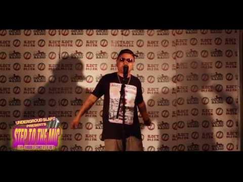 "Underground Slapz Presents ""STEP TO THE MIC"" W/ CHRIS CASH"