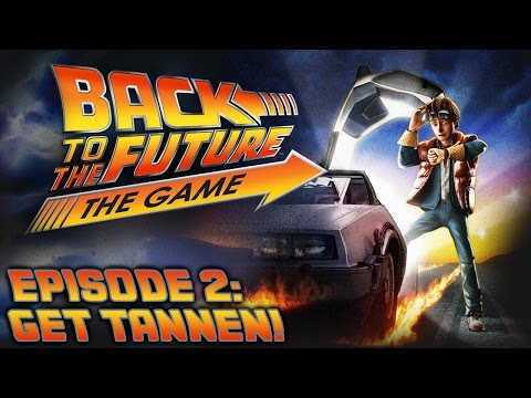 Back To The Future: The Game - Let's Play - Episode 2: