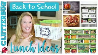 5 Back to School Lunch Ideas for Lazy Moms