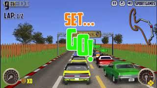 V8 Muscle Cars   Full Game Walkthrough   Freegames66