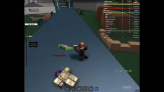 Fighting raiders! (VSO: Roblox)