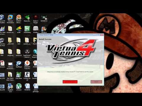 Virtua Tennis 4 - Download, Install and CREATE WINDOWS LIVE ACCOUNT FOR FREE!