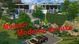 Les sims4...La fin de la maison moderne (Enfin sur la galerie)
