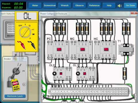 How to do Electrical Troubleshooting of Electrical Motor Control Circuit  YouTube