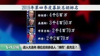 """时事看台(平章):进入大选年,哪位总统参选人""""弹药""""最充足?"""