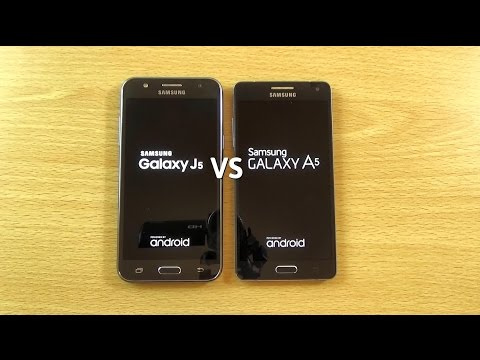 Samsung Galaxy J5 VS Galaxy A5 - Speed & Camera Test!