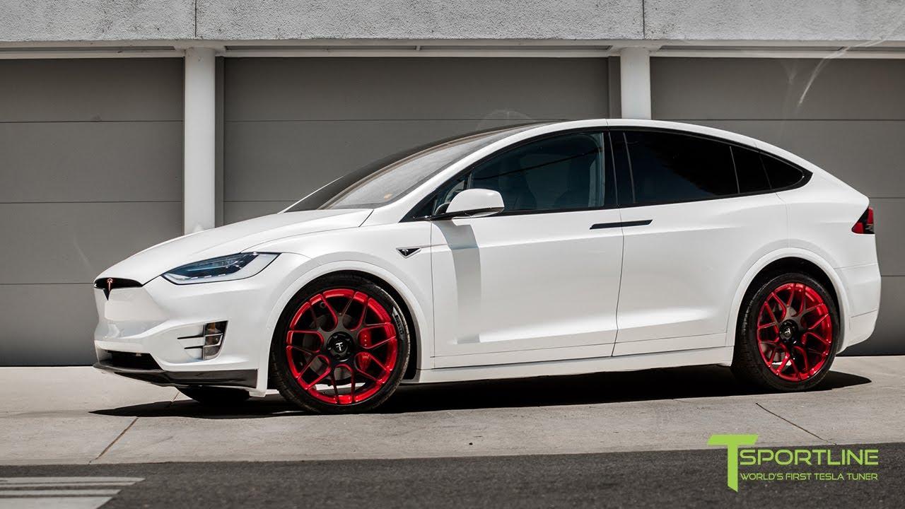 Tesla model x white