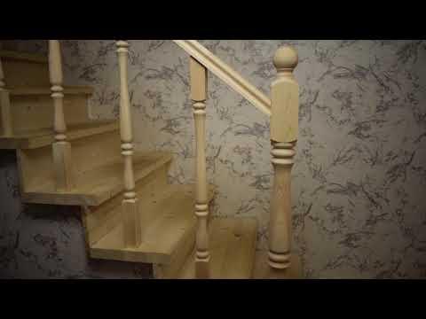 Лестница своими руками. Лестница на второй этаж. Я сделал это!