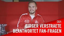 Birger Verstraete beantwortet Fan-Fragen | 1. FC Köln | Schuss-Rating 58 bei FIFA 20? So ein Sch**ß!