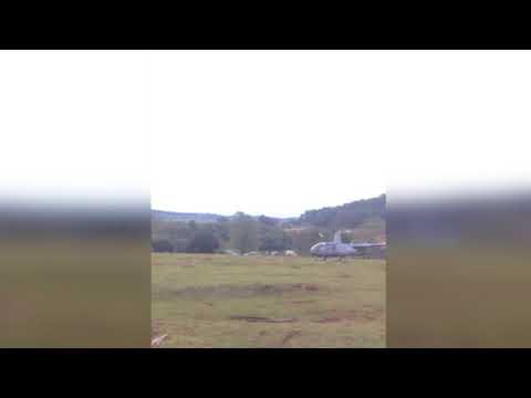 PARANÁ   Moradores registra avião caindo em Boa Vista da Aparecida