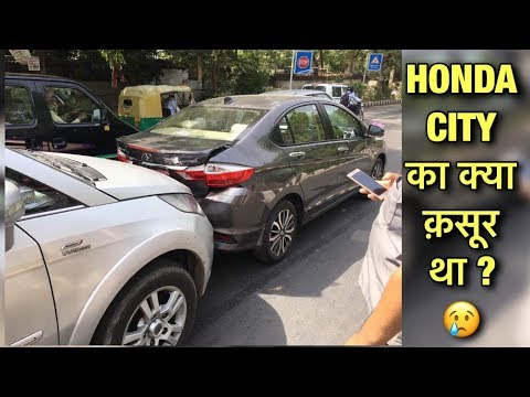 Rarest CRASH You Will EVER See | Honda City vs TATA Aria