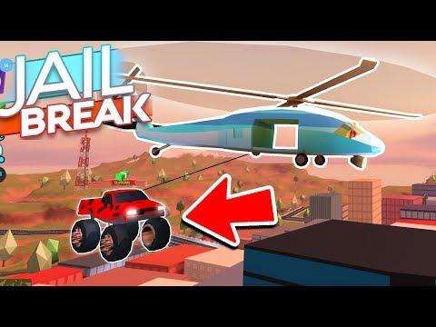*JUST FOUND* SECRET HELICOPTER GLITCH in JAILBREAK UPDATE! (Roblox Jailbreak)