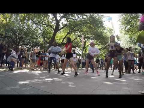 Korean Festival Houston 2017 Kpop random play dance