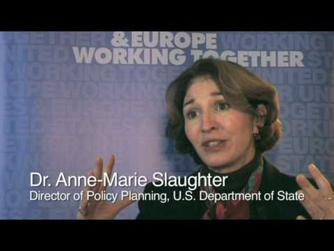 Civilian power on the rise: Dr. Anne-Marie Slaughter explains